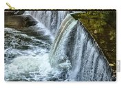 Wissahickon Dam At Ridge Avenue - Side View Carry-all Pouch
