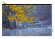 Wissahickon Morning In Autumn Carry-all Pouch