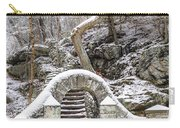 Wissahickon Steps In The Snow Carry-all Pouch