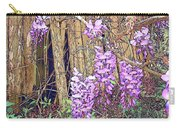 Wisteria And Old Fence Carry-all Pouch