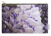 Wisteria Blooms Carry-all Pouch