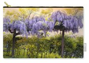 Wisteria Trellis 2 Carry-all Pouch