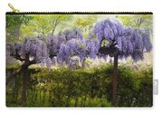 Wisteria Trellis Carry-all Pouch by Jessica Jenney