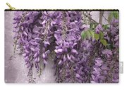 Wistful Wisteria Carry-all Pouch