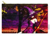Witch In The Pumpkin Patch Carry-all Pouch