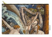 Witches Carry-all Pouch by Hans Baldung Grien