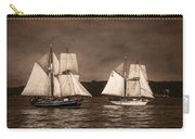 With Full Sails Carry-all Pouch by Dale Kincaid