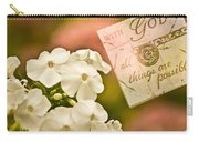 With God All Things Are Possible Carry-all Pouch