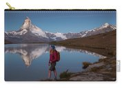 With The Matterhorn In The Background Carry-all Pouch
