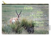 Without Faith Carry-all Pouch