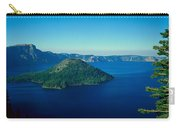 Wizard Island In Crater Lake, Oregon Carry-all Pouch