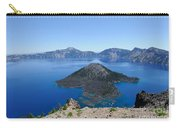 Wizard Island Crater Lake Oregon Usa Carry-all Pouch by John Kelly