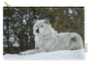 Wolf - Resting Carry-all Pouch