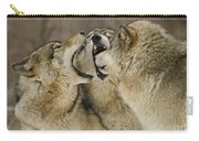 Wolf Display Carry-all Pouch