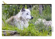 Wolf In The Grass Carry-all Pouch