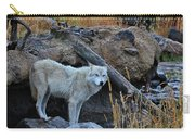Wolf In The Wild Carry-all Pouch
