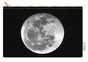 Wolf Moon Waning Carry-all Pouch by Al Powell Photography USA