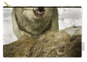 Wolf Protecting Kill Carry-all Pouch