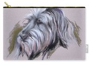 Wolfhound Portrait Carry-all Pouch