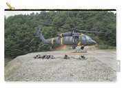 Wolfhounds Air Assault From A Uh-60 Carry-all Pouch