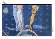 Woman And Cherub Carry-all Pouch