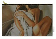 Woman Bathing 3 Carry-all Pouch