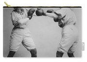Woman Boxing Carry-all Pouch