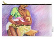 Woman Breastfeeding Bay In Rwanda Carry-all Pouch