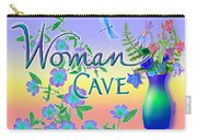 Woman Cave With Dragonfly Carry-all Pouch