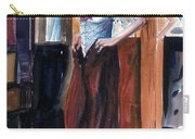 Woman Dressed Carry-all Pouch