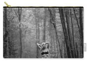 Woman In A Forrest Carry-all Pouch