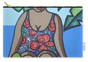 Woman In Bathing Suit 4 Carry-all Pouch