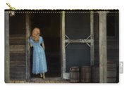Woman In Cabin Doorway Carry-all Pouch