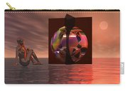 Woman In Contemplation Nude Carry-all Pouch