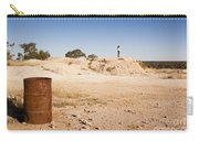 Woman In Landscape Carry-all Pouch