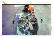 Woman In Silver Mask Carry-all Pouch