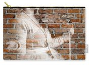 Woman In The Bricks Carry-all Pouch