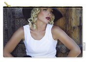 Woman In White Palm Springs Carry-all Pouch