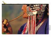 Akha Hill Tribe Woman  Thailand Carry-all Pouch