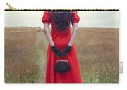Woman On Field Carry-all Pouch by Joana Kruse