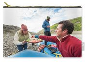 Woman Serving Appetizers, Alsek River Carry-all Pouch