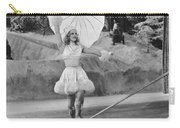Woman Tightrope Walker Carry-all Pouch