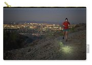 Woman Trail Running In South Mountain Carry-all Pouch