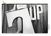 Woman With 7 Up Logo Carry-all Pouch