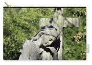Woman With Cross Cave Hill Cemetery Louisville Kentucky Usa Carry-all Pouch