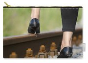 Woman With High Heels Shoes Carry-all Pouch