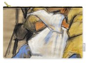 Woman With White Towel - Helene #9 - Figure Series Carry-all Pouch