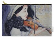 Woman's Autumnal Twilight Serenade Carry-all Pouch