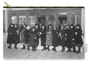 Women In A Bank Carry-all Pouch