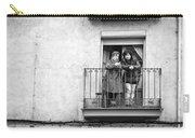 Women In Balcony Carry-all Pouch